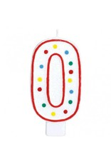 #0 Numeral Candle