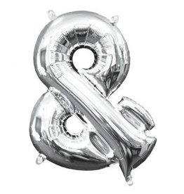 "Balloon Air-Filled Symbol ""&"" - Silver"