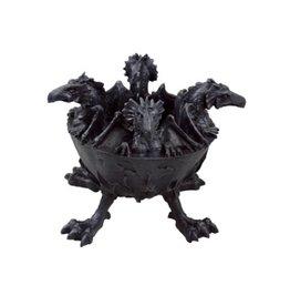 Black Art Dragon Ashtray