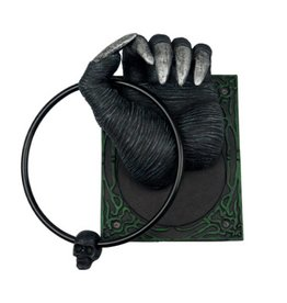 Black Art Demon Hand Door Knocker