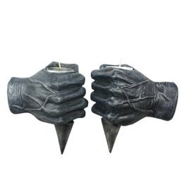 Black Art Double Fisting Tea Light Candle Holders