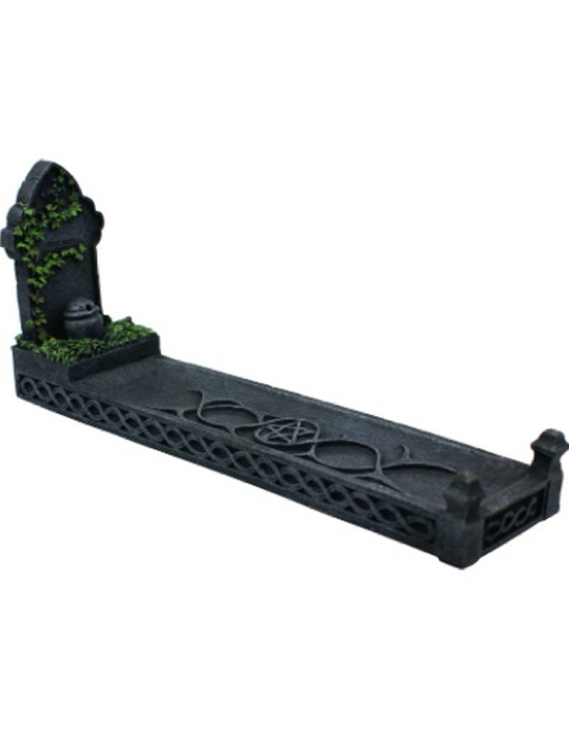 Black Art Headstone Incense Burner