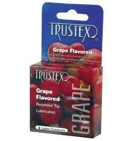 Trustex Trustex Flavored Condoms 3 Pack - Grape