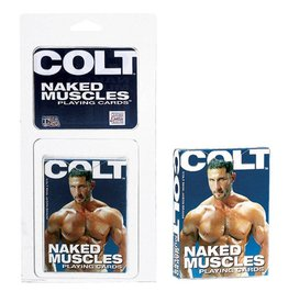 California Exotic Novelties Colt Naked Muscles Men Playing Cards