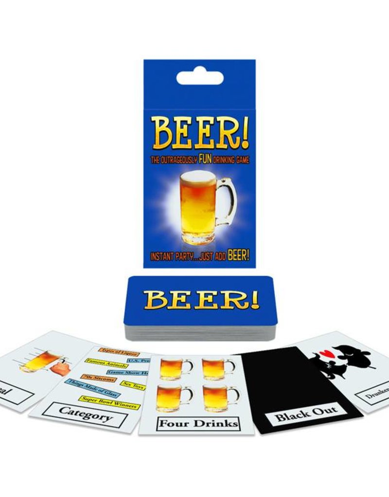 Beer! The Outrageously Fun Drinking Game