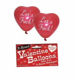 X-Rated Valentine's Balloons