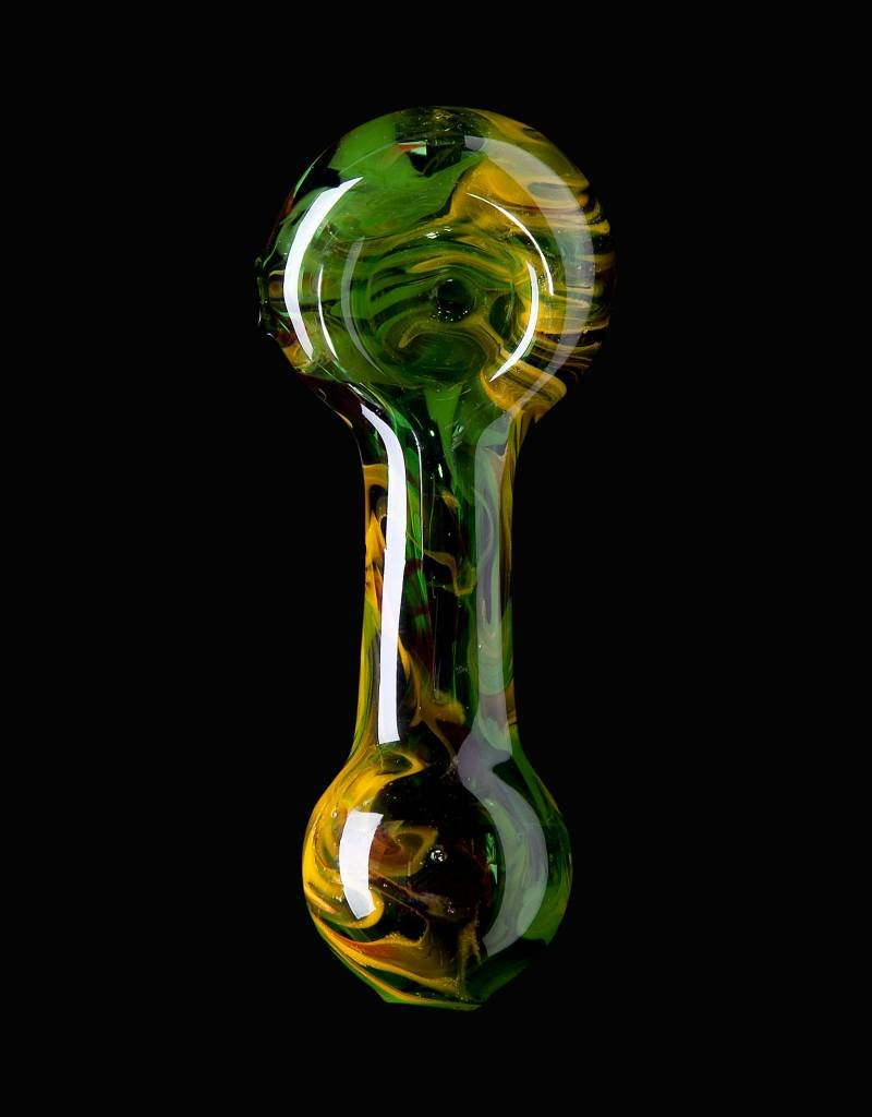 Chameleon Glass Chameleon Hand Pipe - Rastalized