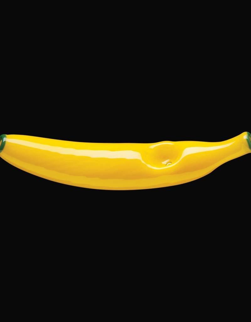 Chameleon Glass Chameleon Hand Pipe - Mellow Yellow