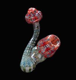 Chameleon Glass Chameleon Sherlock - Sculpted Mushroom