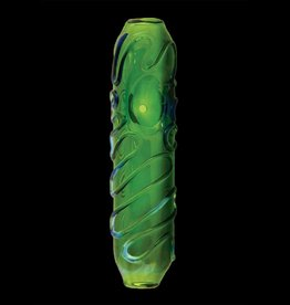 Chameleon Glass Chameleon Steamroller - Green Interlude