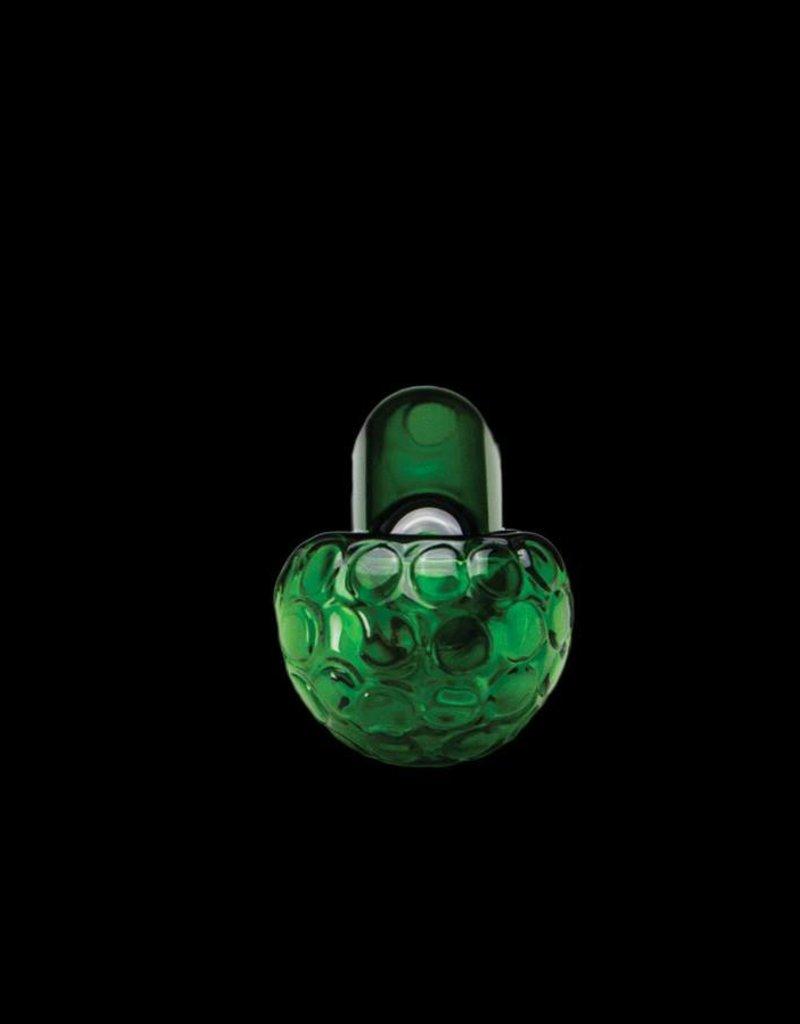 Chameleon Glass Chameleon Hand Pipe - Green Asteroid