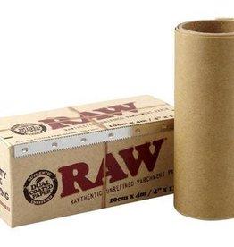 "Raw Raw Unrefined Parchment Paper - 4""x13'"