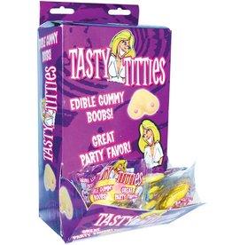 Tasty Titties Edible Gummy Boobs