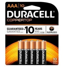 AAA Batteries- 4 pack