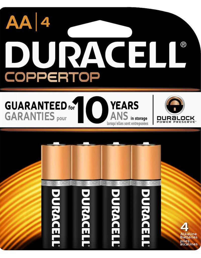 AA Batteries- 4 pack
