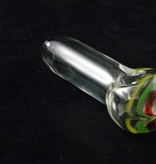 Chameleon Glass Chameleon Hand Pipe - Clear Isotope