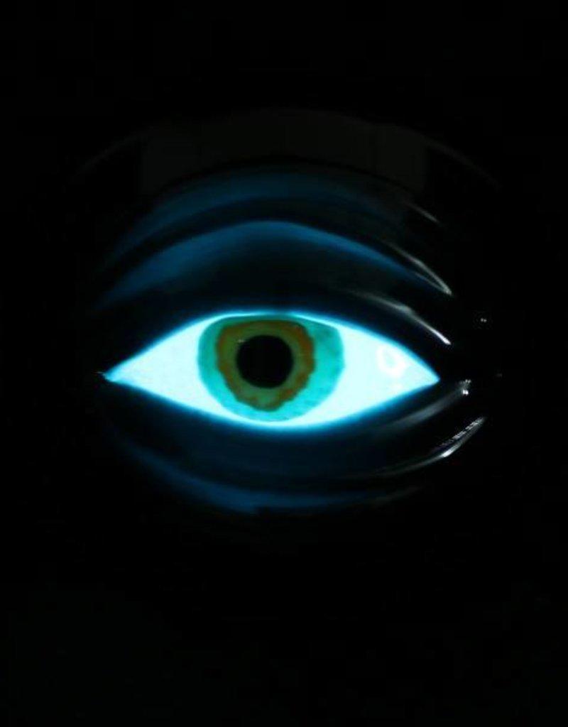 Chameleon Glass Chameleon Hand Pipe - Glow Cyclops