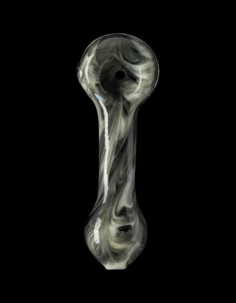 Chameleon Glass Chameleon Hand Pipe - Black Granitized