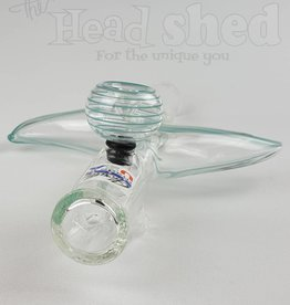Glowfly Glass Glowfly Glass - Horn Zig Zag Steamroller