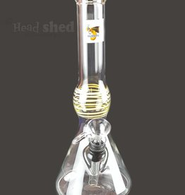 Glowfly Glass Glowfly Glass - Bubbler Beaker Water Pipe -32mm