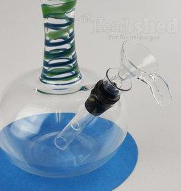 Glowfly Glass Glowfly Glass - Narrow Neck Water Pipe -32mm