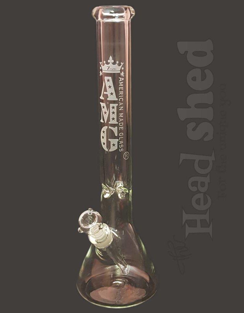 "American Made Glass (AMG) AMG - Beaker Waterpipe - 18""x7mm"
