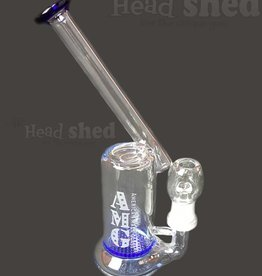American Made Glass (AMG) AMG - Bubbler w/ Turbo Disk - Honeycomb