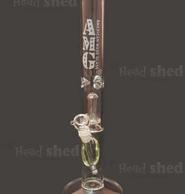 """American Made Glass (AMG) AMG - One Chamber Clear Straight - 18"""""""