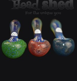 Ohio Valley Glass Ohio Valley Glass Hand Pipe - Frit Head Pipe