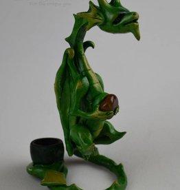 Spiral Dragon - Wood Pipe