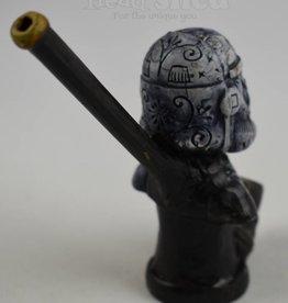 Sugar Skull Storm Trooper - Wood Pipe