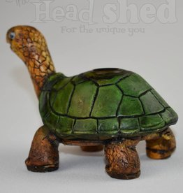Turtle - Wood Pipe