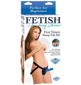 Fetish Fantasy Fetish Fantasy Series First Timers Strap-On Set - Blue