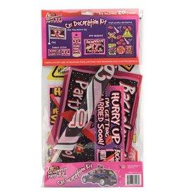 Bachelorette Party Car Decoration Kit - Includes 20 pieces