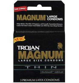 Trojan Trojan Magnum Thin Condoms - Box of 3