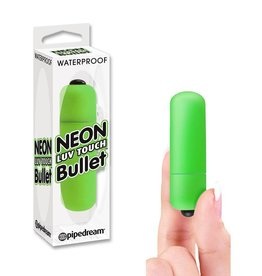 Pipedream Products Neon Luv Touch Bullet - Green