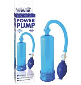 Pipedream Products Beginner's Power Pump - Blue
