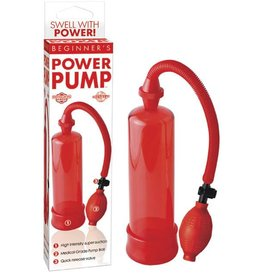 Pipedream Products Beginner's Power Pump - Red