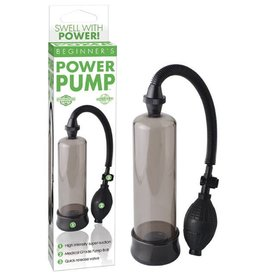 Pipedream Products Beginner's Power Pump - Black
