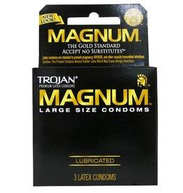 Trojan Trojan Magnum Condoms - Box of 3