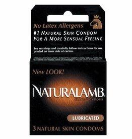 Trojan Trojan Naturalamb Condoms - Box of 3