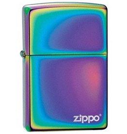 Zippo Zippo Lighter - Spectrum Zippo Logo