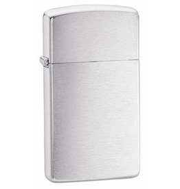 Zippo Zippo Lighter - Slim Brushed Chrome