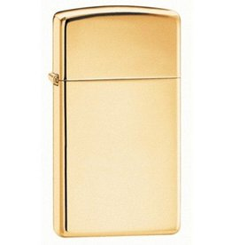 Zippo Zippo Lighter - Slim High Polish Brass