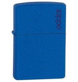 Zippo Zippo Lighter - Royal Blue Matte Zippo Logo