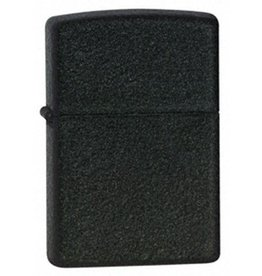 Zippo Zippo Lighter - Black Crackle