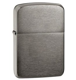 Zippo Zippo Lighter - 1941 Replica Black Ice