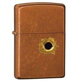 Zippo Zippo Lighter - Toffee w/ Bullet Hole