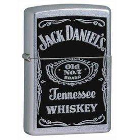 Zippo Zippo Lighter - Street Chrome Jack Daniels