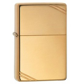Zippo Zippo Lighter - High Polish Brass w/ Slashes